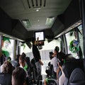 Giro: A week aboard the Cannondale bus