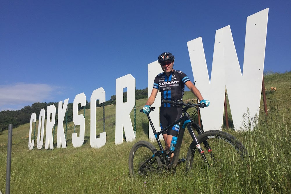 Carl Decker saw a lot of e-bikes at the Sea Otter Classic this year, so he decided to do something about it. Photo: Carl Decker