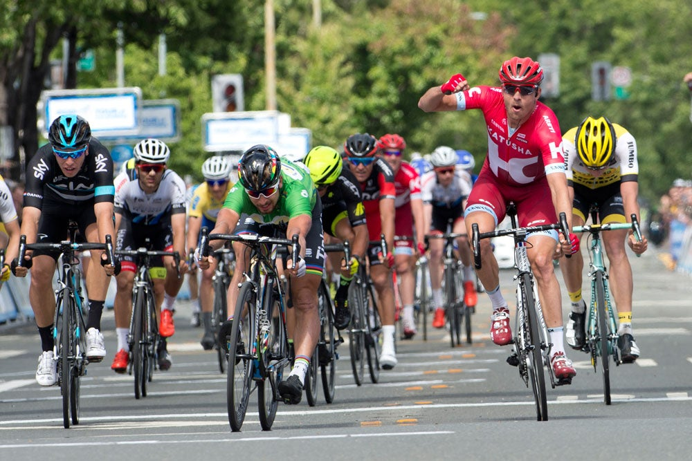 Tour Of Calidornia  Year Old Rider