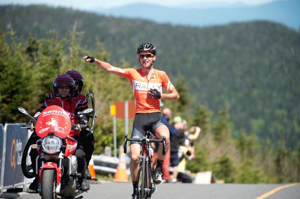 Sepp Kuss won stage 2 of the Tour de Beauce. Photo: Casey Gibson | Rally Cycling