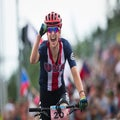 The story behind Davison's wild ride to MTB worlds silver