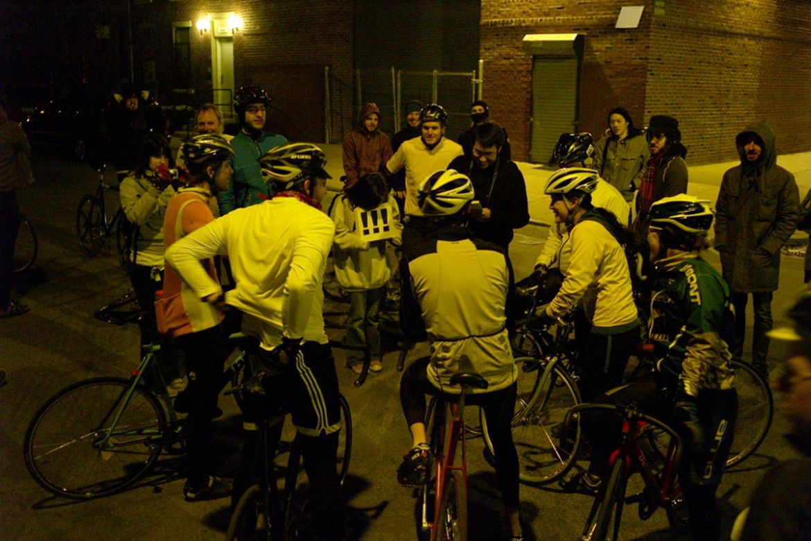 The first Red Hook Criterium had a distinctly grassroots feel. Photo credit: David Trimble