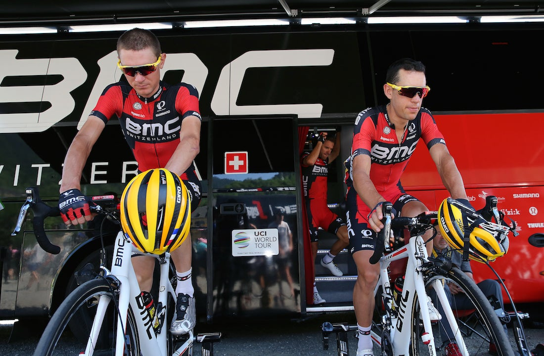 Tejay van Garderen says BMC's two-pronged approach is working, despite Richie Porte's untimely flat in stage 2. Photo: Tim De Waele | TDWsport.com (File).