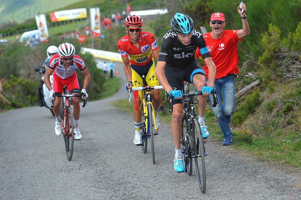 The 2014 Vuelta pitted Alberto Contador against Chris Froome in an all-time great battle. /(c) Tim De Waele