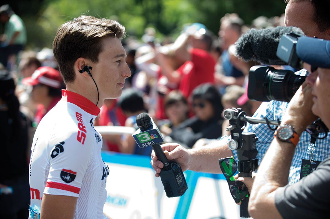 Neilson Powless is relying on the Fairly Group to guide his blossoming career. Photo: Casey B. Gibson | www.cbgphoto.com
