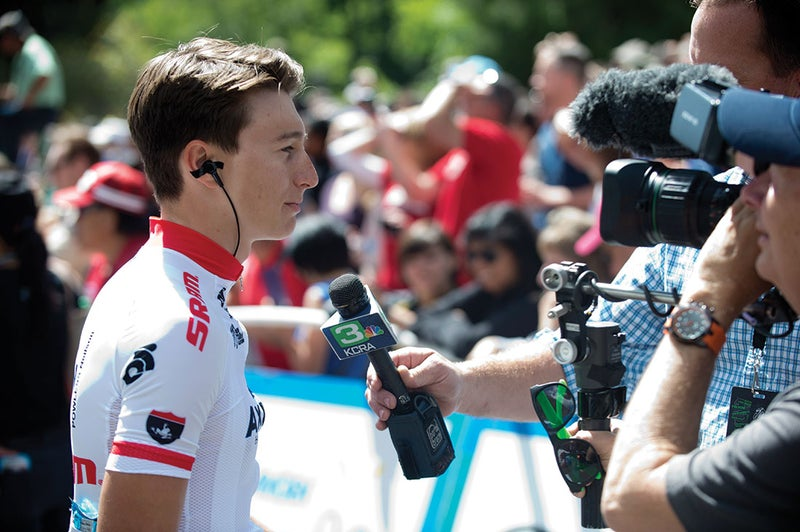 Neilson Powless is relying on the Fairly Group to guide his blossoming career. Photo: Casey B. Gibson   www.cbgphoto.com