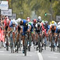 Paris-Tours: Gaviria steals a march on his rivals to win