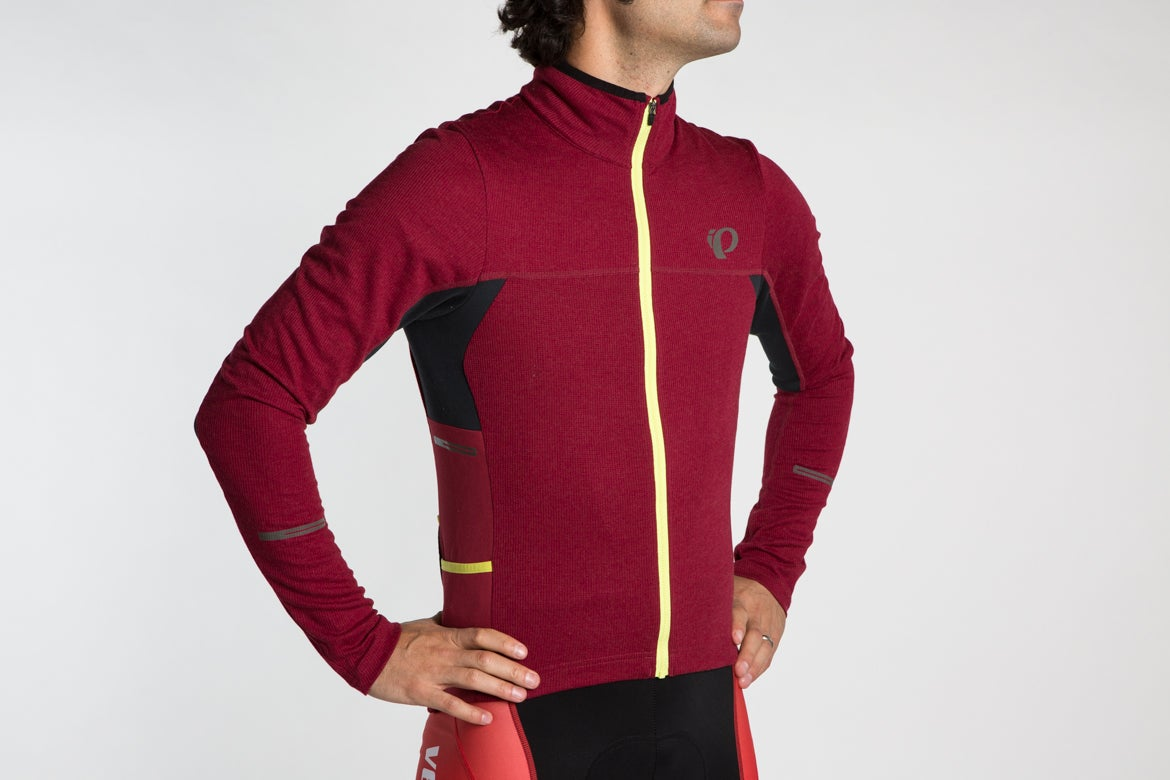 PEARL iZUMi Pro Escape Thermal Long Sleeve Cycling Jersey