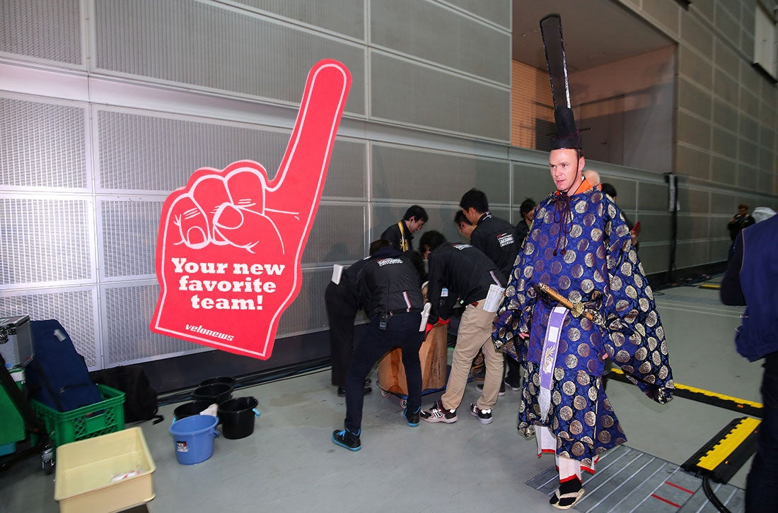In Sky's eternal quest for marginal gains, Chris Froome went to the Japan Cup to test out new apparel. Photo: Tim De Waele | TDWsport.com