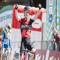 Tour of the Alps: Dennis wins shortened stage, Pinot leader