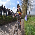 Gilbert solos to thrilling Tour of Flanders win