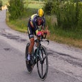 Campenaerts gets expensive first date in Giro TT