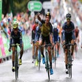 Groenewegen holds off Ewan in Britain, Boom retains lead