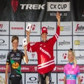 Trek CX Cup: Van der Poel, Compton overcome heat to take wins