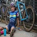 For the love of racing: McFadden pushes, pedals through pain