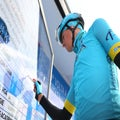 Astana's Fuglsang enjoying additional space, support after Aru's exit