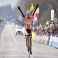 Van der Breggen wins women's Flanders in solo fashion
