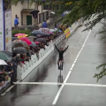 Video highlights: Niewiadoma weathers rain to win Alfredo Binda