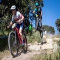 I did an e-MTB race. It was fun, and actually pretty hard