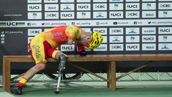 1b7f2a189 Photo Essay  The inspiring athletes of paracycling track worlds