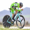 Pais Vasco: Roglic takes overall lead with time trial win