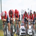 UCI bans Speed Gel after Lotto-Soudal's use in Dauphiné TT