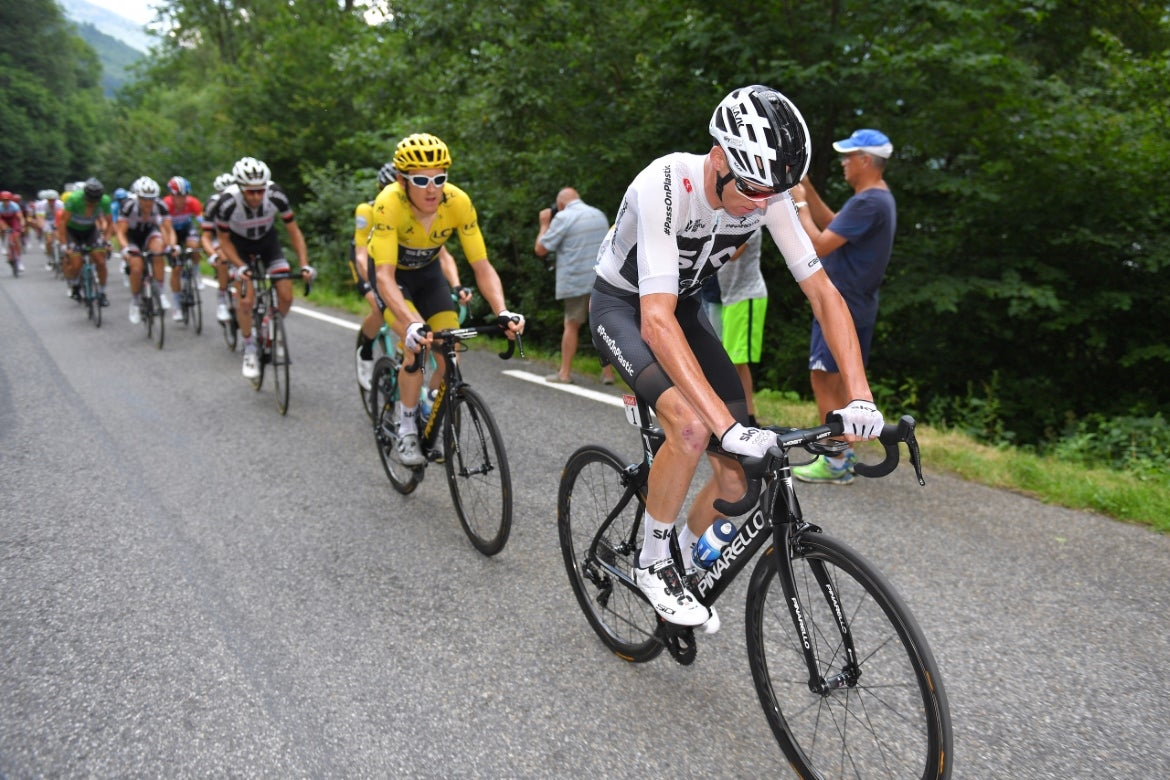 Why does Chris Froome look so bad on a bike?