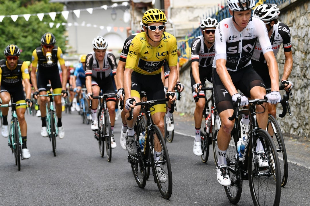 Froome: 'Podium is secondary thought'