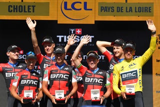 BMC's keys to TTT victory: Sky's early pace, 58-tooth chainrings, course recon