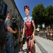 Tour debutants Haga, Boswell still going strong as race hits Pyrenees