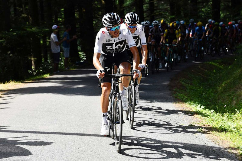 Yellow jersey in sight, but Thomas still in doubt