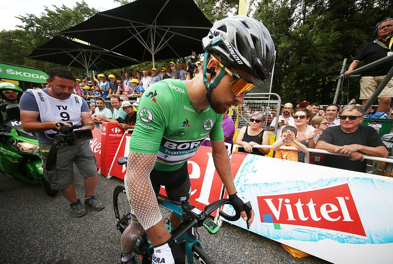 Sagan endures epic suffering, still finishes final mountain stage 1
