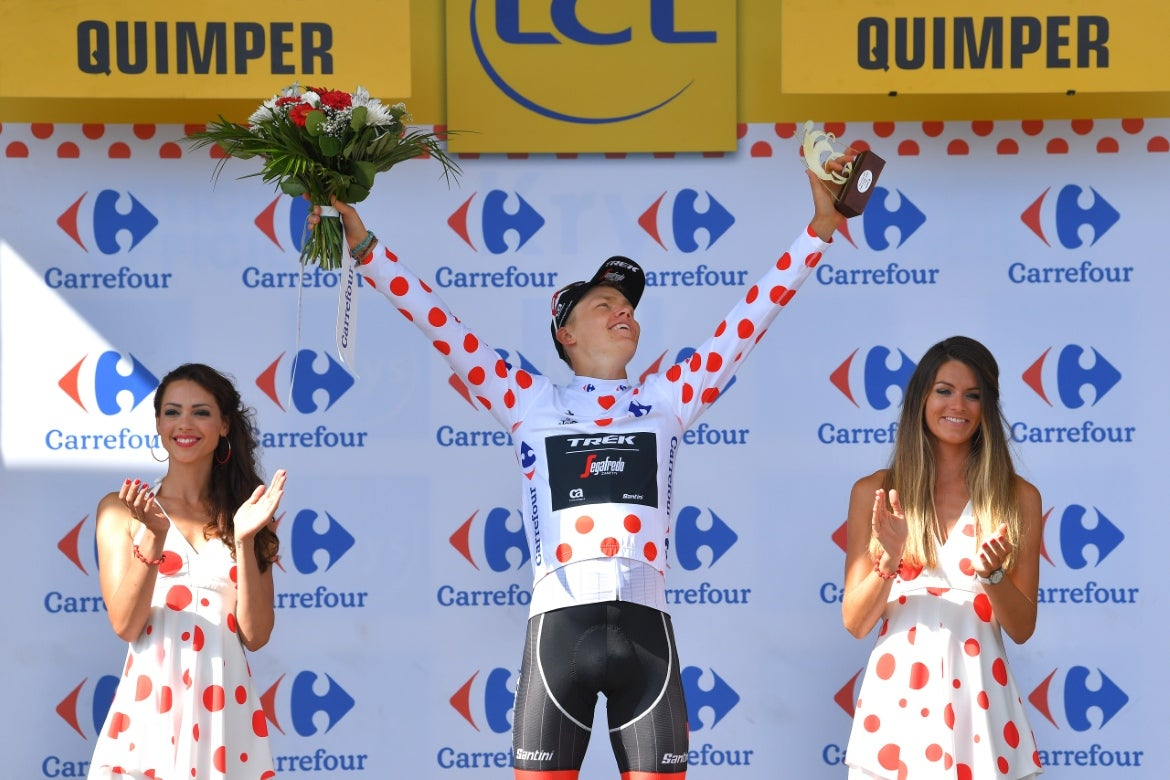 Martin wins Tour de France stage six on the Mûr-de-Bretagne