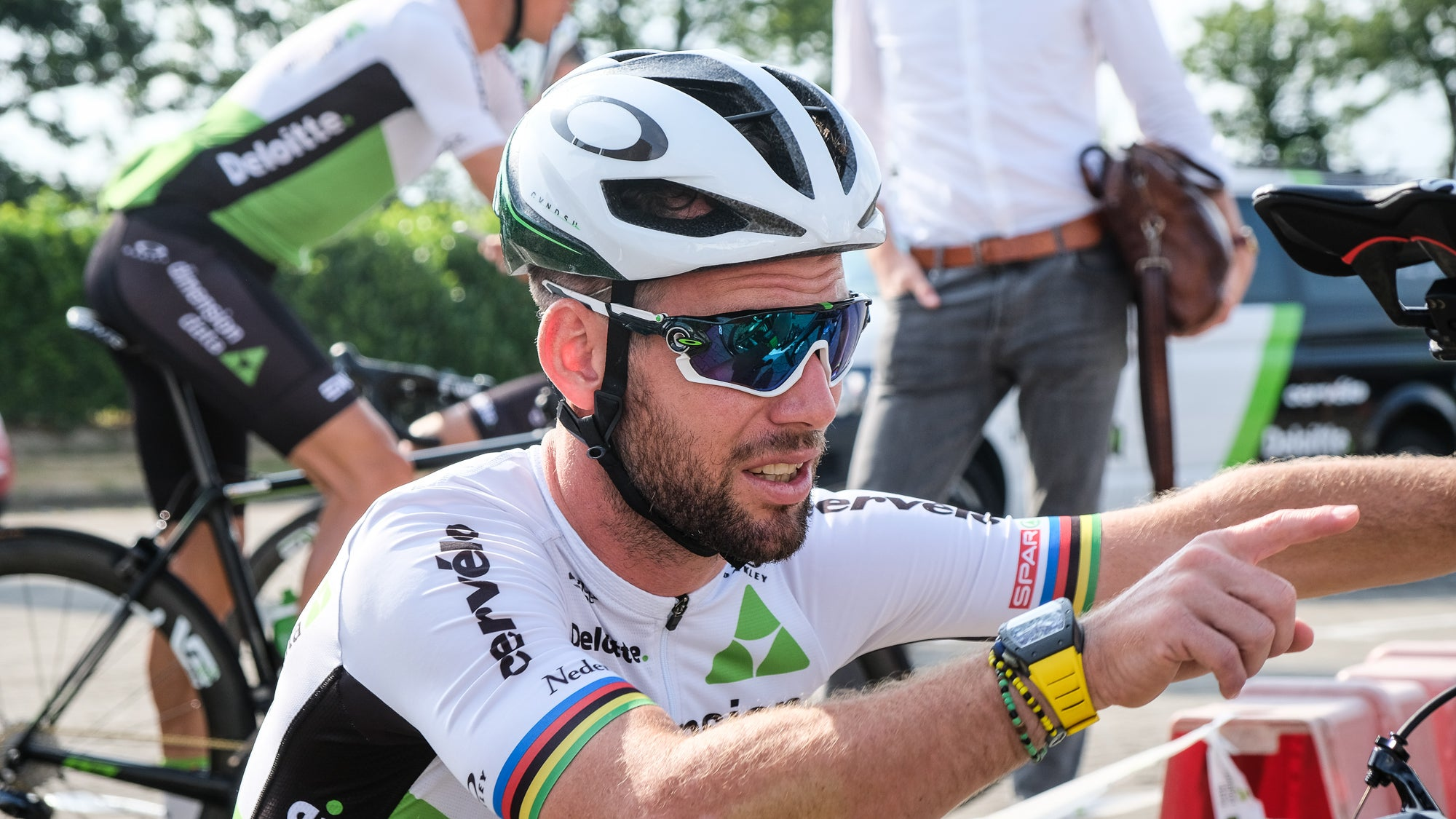 1ea5f72b2eb24b Is Cav s watch an indication he has aspirations for yellow  It might just  be a snazzy watch. But don t forget  Cav wore yellow at the 2016 Tour de  France ...