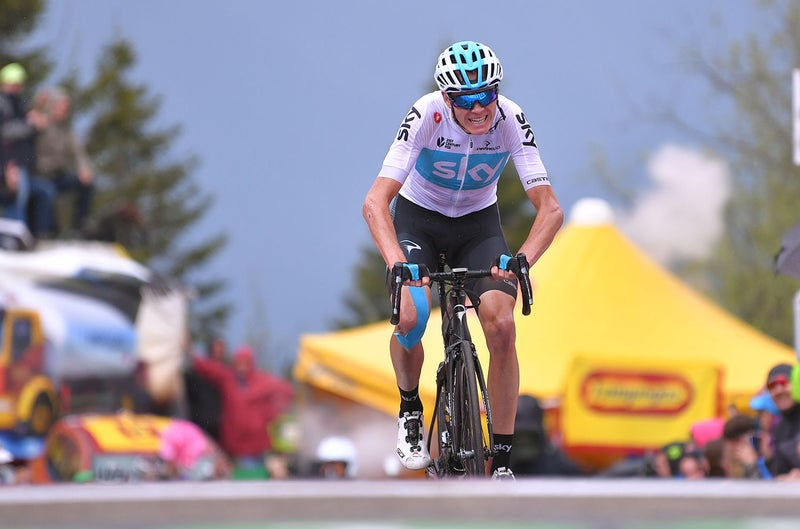 Team Sky names strong line-up to support Froome