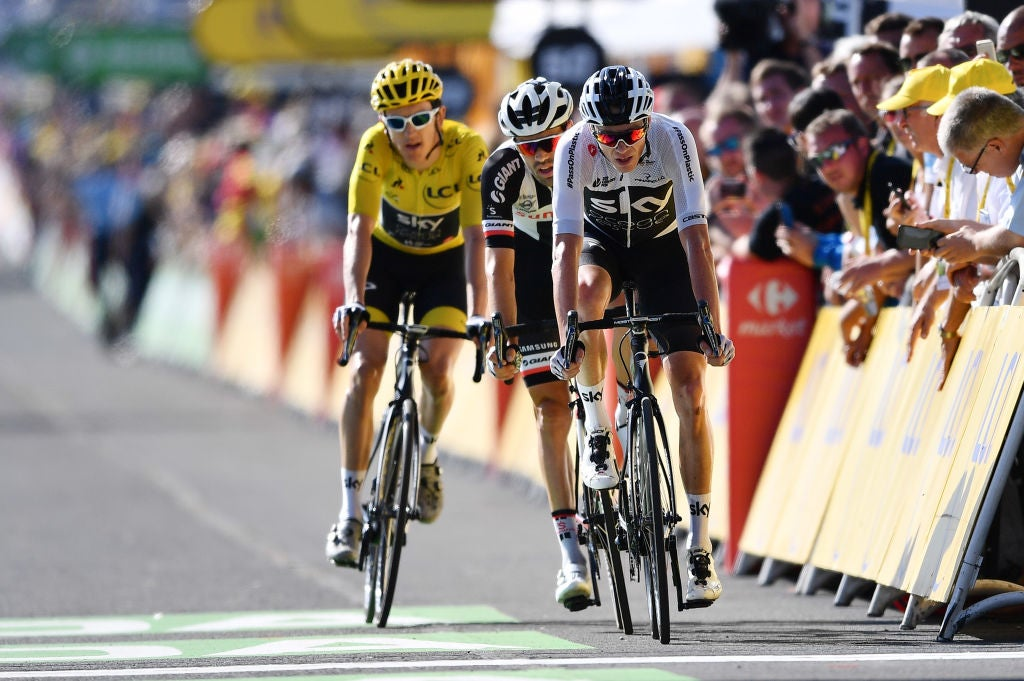 Tour suspense  Froome in unfamiliar situation of not carrying yellow into  final week aadea8e1e