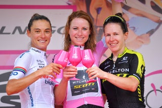 Giro Rosa Stage 10: Van Vleuten secures victory; Moolman-Pasio second, Spratt third