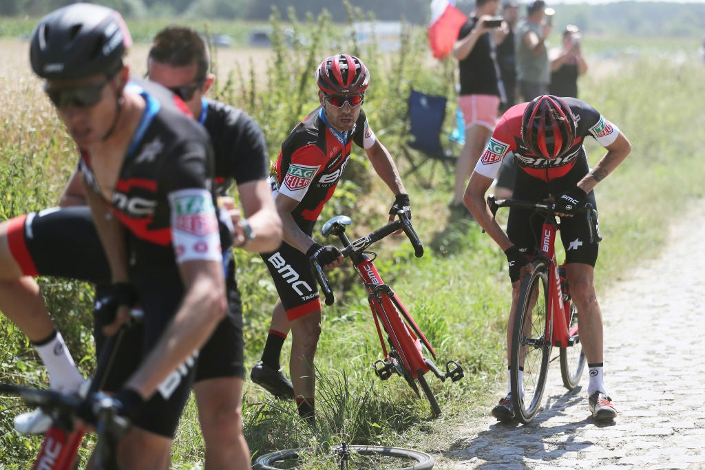 BMC and Van Avermaet suffer 'big disappointment' on stage 9 | VeloNews.com