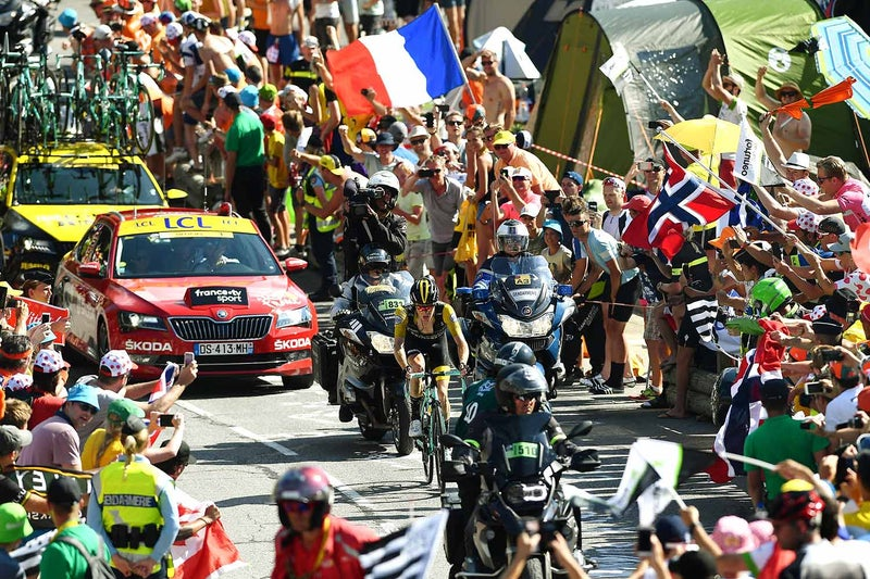 Fraile takes stage 14 as Thomas retains yellow jersey