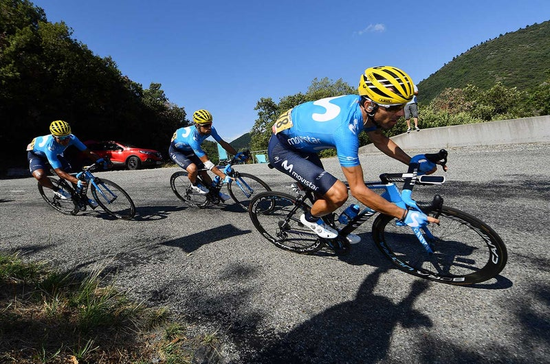 Tour de France rider expelled for punching cyclist