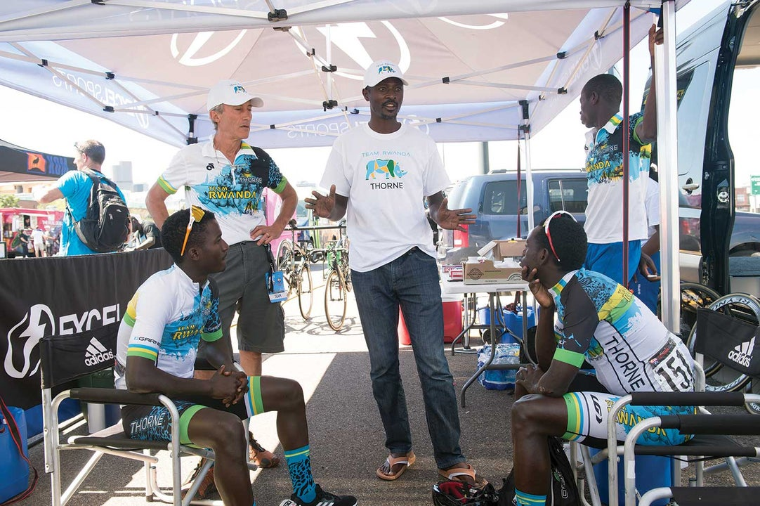 Team Rwanda matures in Central Africa's top cycling team