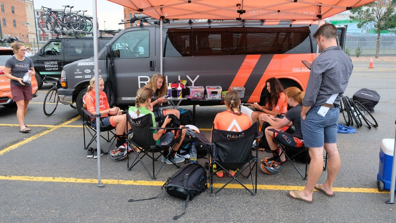 In the Pits: Colorado Classic women's race