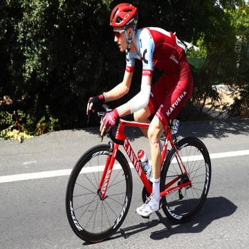 Vuelta: Boswell rides on after hard fall