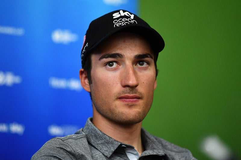 Gianni Moscon: Team Sky rider banned for trying to hit a rival at Tour de France