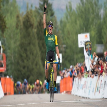 Colorado Classic: Gage Hecht fends off the sprinters in stage 1