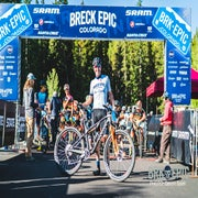 Breck Epic done and Gold Dusted on stage 6