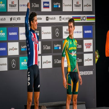 Blevins breaks through at MTB worlds