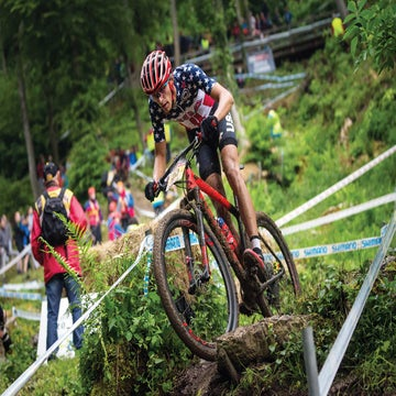 Blevins leaves road behind to focus on Olympic MTB dream