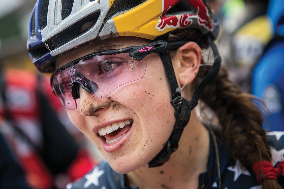 Kate Courtney's cheerful pursuit of greatness