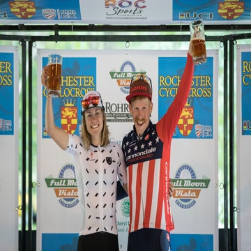 Rochette and Hyde take victory in Rochester cyclocross day 1